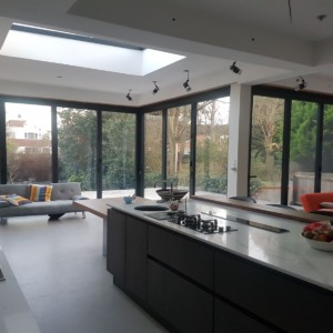 Bi Folding Doors - Cornerless