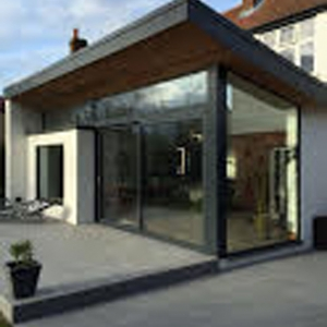 Abbey Road, Chertsey, Staines KT16 - Bifold Doors